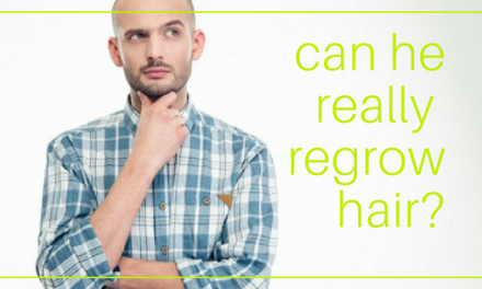 5 Simple Steps to Regrow Hair (for Him)